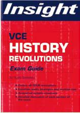 VCE History of Revolutions Exam Guide