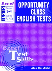 Opportunity Class English Tests Years 3-4