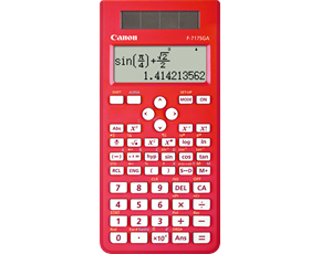 New scientific calculator F717SGA