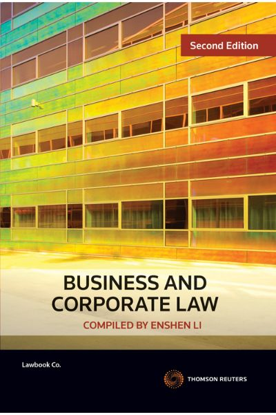 Business and Corporate Law 2e