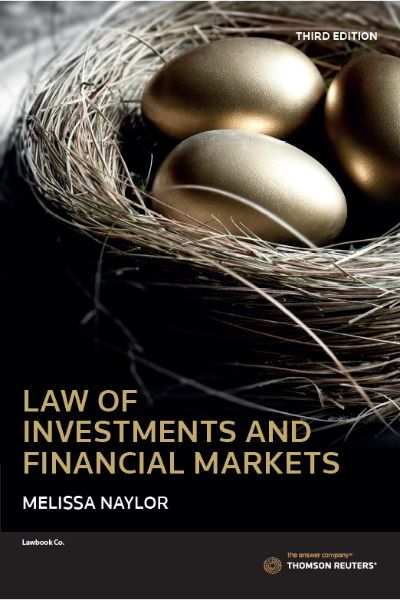 Law of Invest&Financial Markets 3e