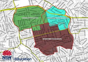 School zone of Epping West Public School, 96 Carlingford Rd, Epping, 2121, NSW